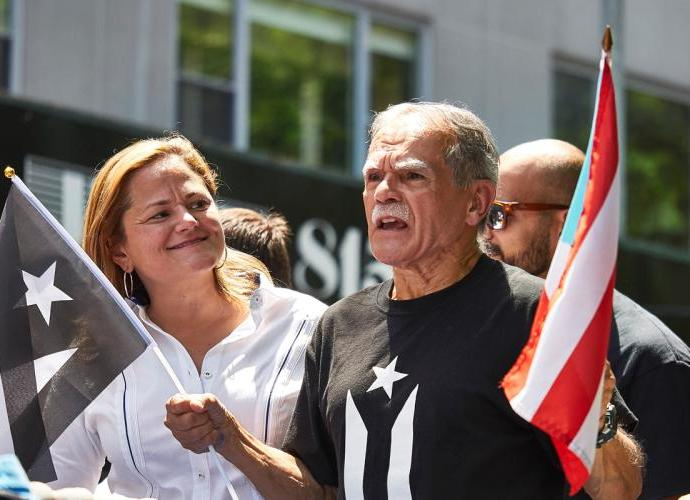 Terrorist Oscar Lopez Rivera gets place of honor at NYC Puerto Rican Day Parade