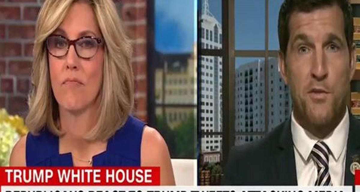 Republican Congressman Suggest To CNN's Alisyn Camerota CNN Gets Played By Trump