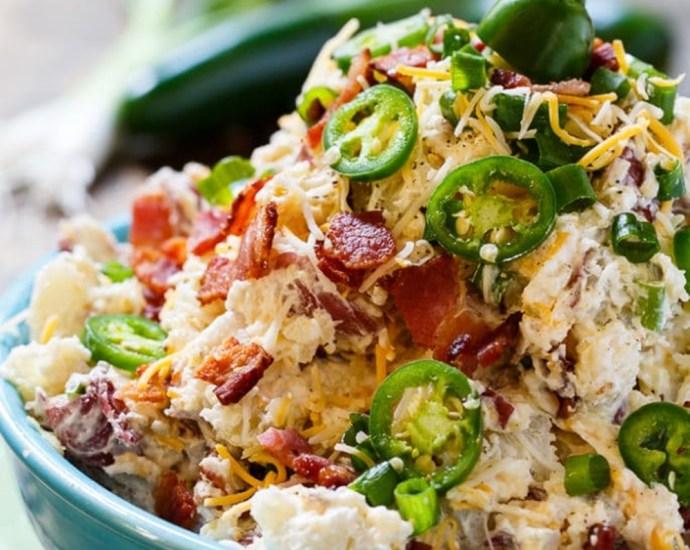 Jalapeno Popper Potato Salad