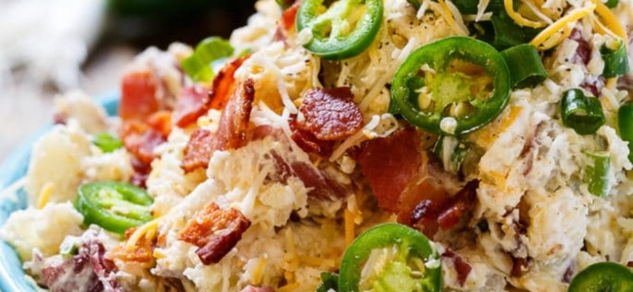Jalapeno Popper Potato Salad