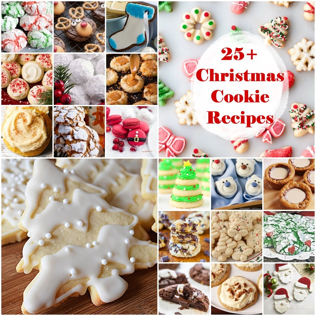 25 Plus Christmas Cookie Recipes
