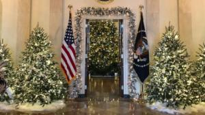 Melania unveils 'Time-Honored Traditions' holiday decor
