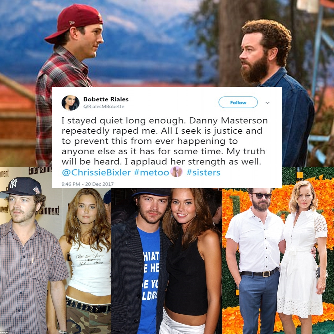 Danny Masterson's ex-girlfriend has accused him of raping her 'repeatedly'