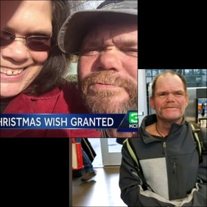 Act of kindness leads to family reunion for homeless man
