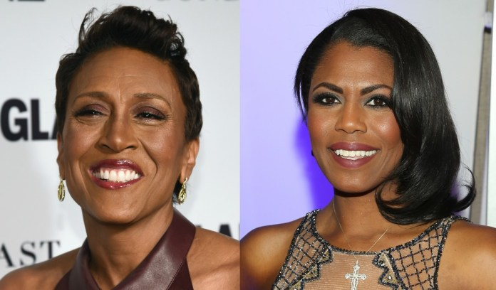 'BYE FELICIA': Robin Roberts throws light shade at Omarosa