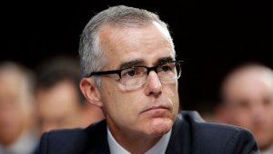 FBI Deputy Director Andrew McCabe removed from his post
