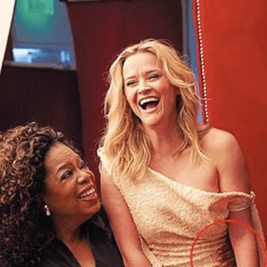 Major Vanity Fair photo shop fail; Oprah Winfrey sprouted an arm and Reese Witherspoon has three legs