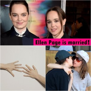 Ellen Page and Emma Portner are now a married