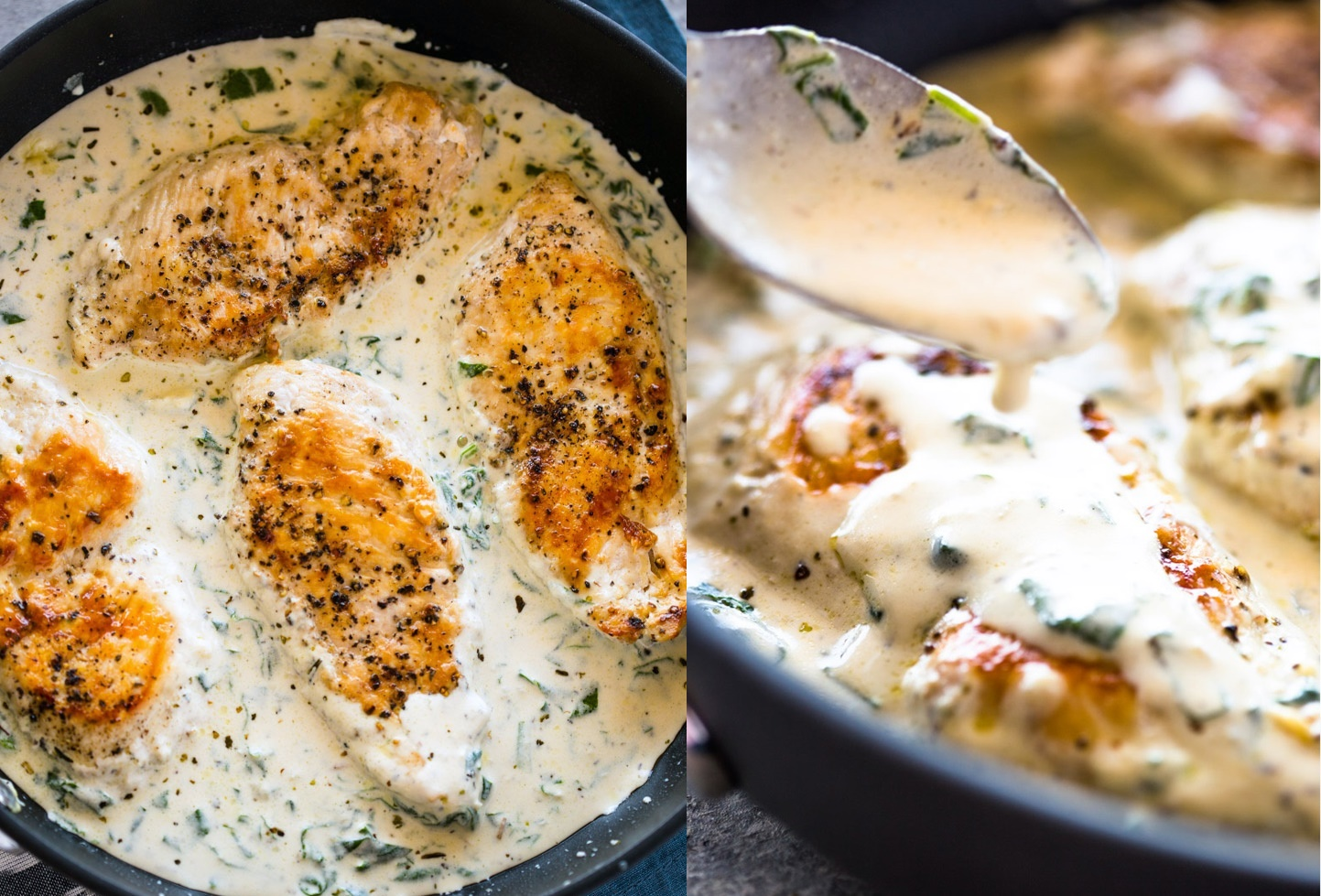 Creamy Parmesan Garlic Chicken