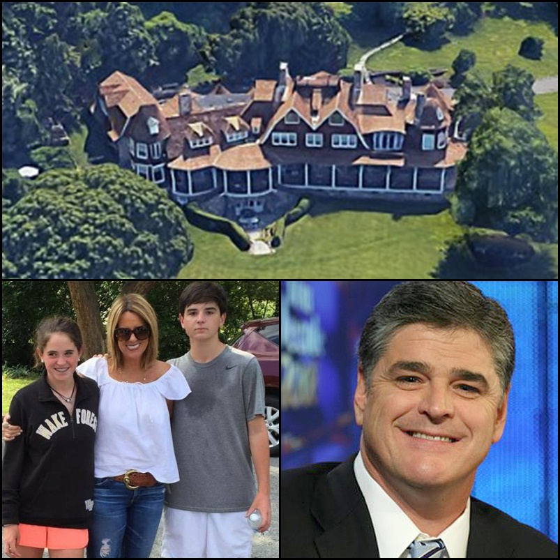 Former dentist, 72, is arrested after Sean Hannity's wife finds him trespassing