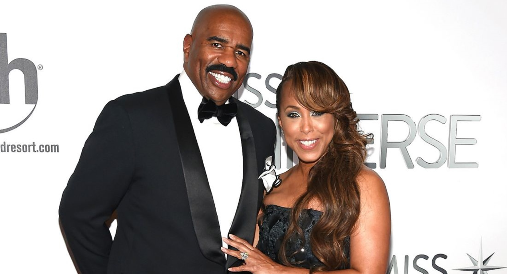 """Steve Harvey and his wife are under fire for using the word """"R"""" word in a playful Instagram video"""