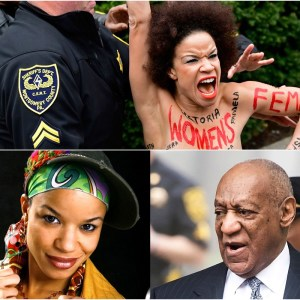 Bill Cosby Topless Protester Identified Appeared On 'The Cosby Show'