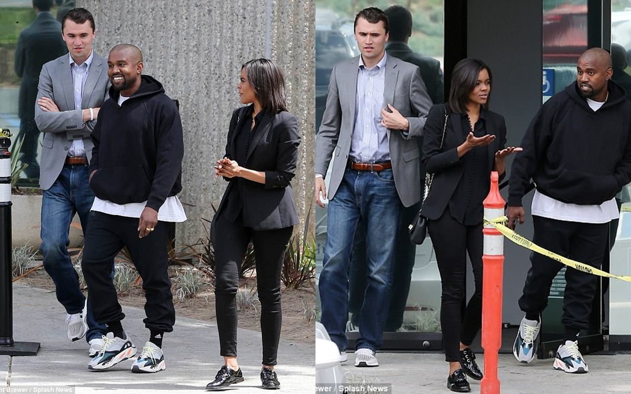 Whoa! Kanye West Meets With Conservative Commentators Candace Owens and Charlie Kirk