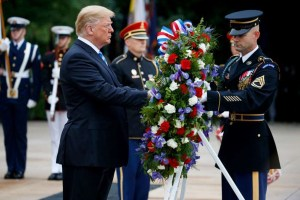 Memorial Day, Trump Honors Fallen Soldiers; Draws Criticism Over Inappropriate Tweet Ever