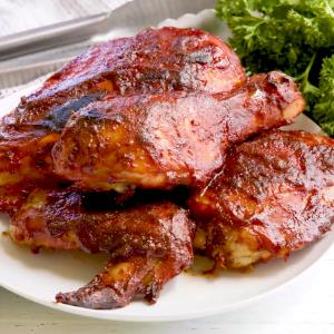Best Baked BBQ Chicken
