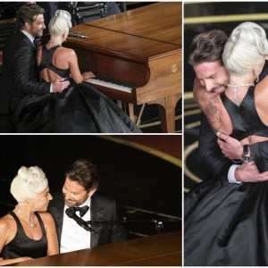 "Bradley Cooper and Lady Gaga deliver steamy performance of ""Shallow"" at the Oscars"