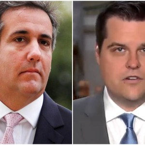 Rep. Matt Gaetz tweets threatening warning to Michael Cohen ahead of hearing
