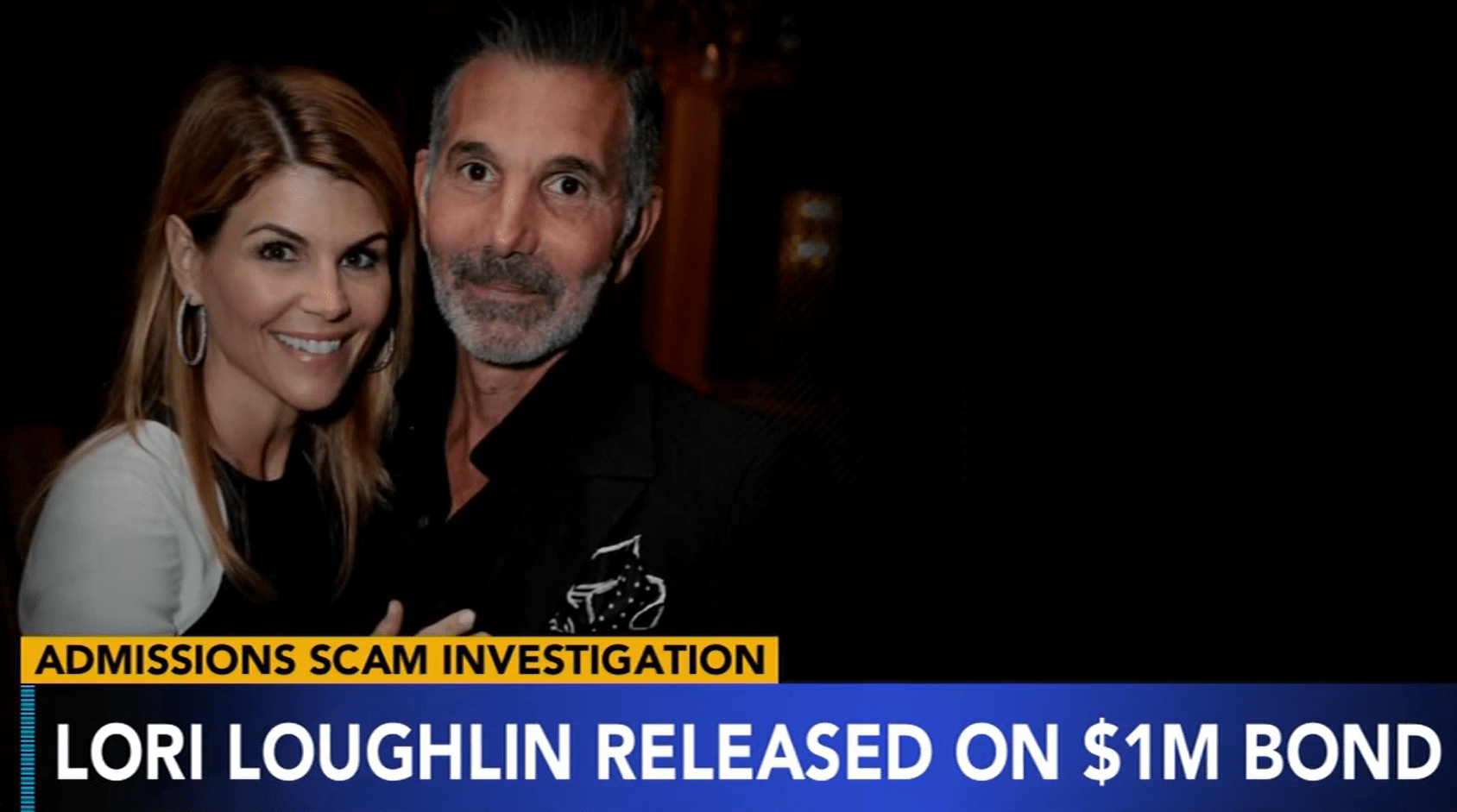 Lori Loughlin released on $1M bond in college admisions scandal