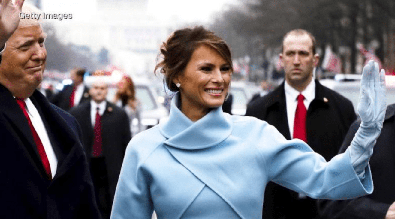 Melania T is the new Jackie O