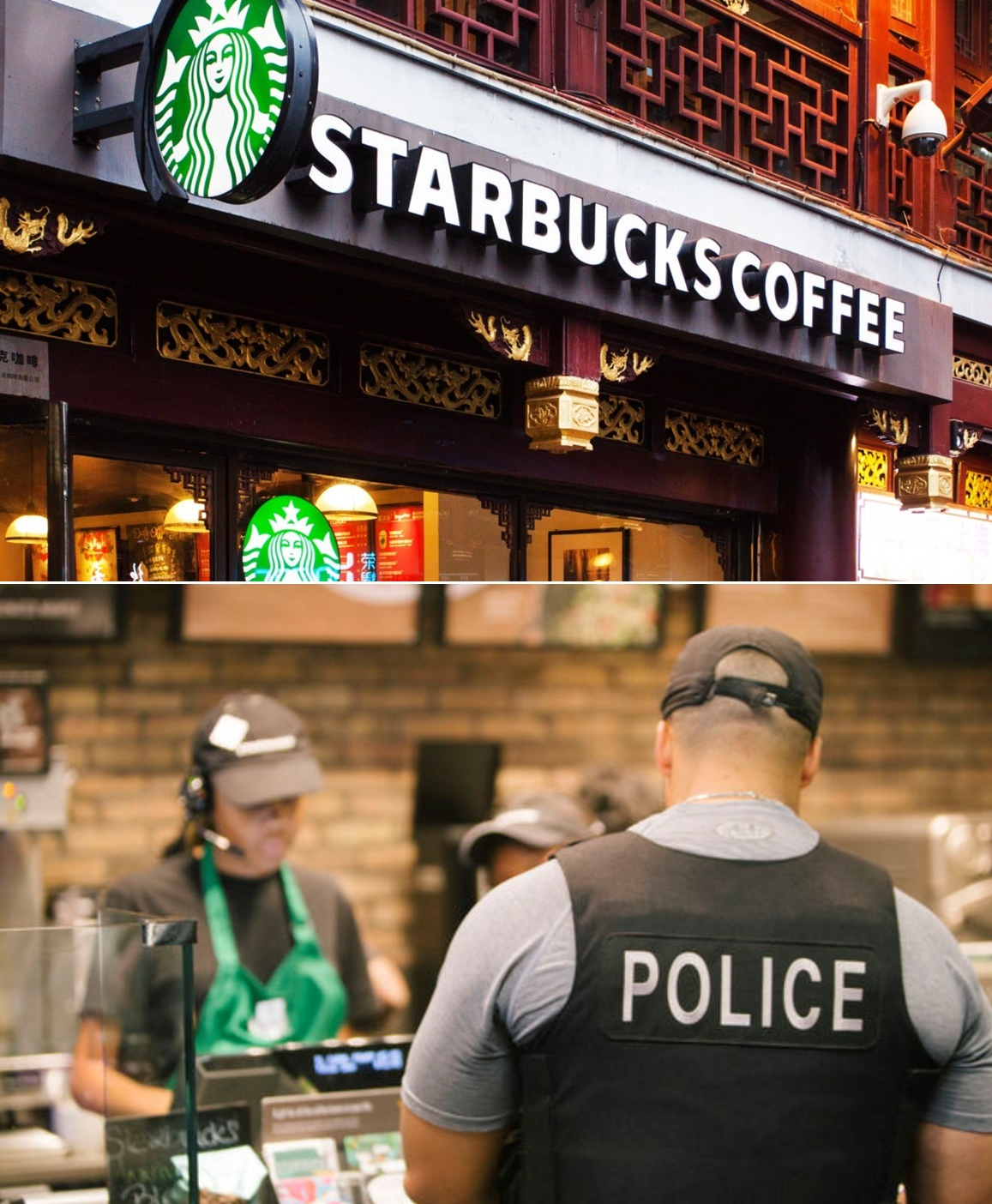 Starbucks barista asks 6 Arizona police officers to leave because customer 'did not feel safe'