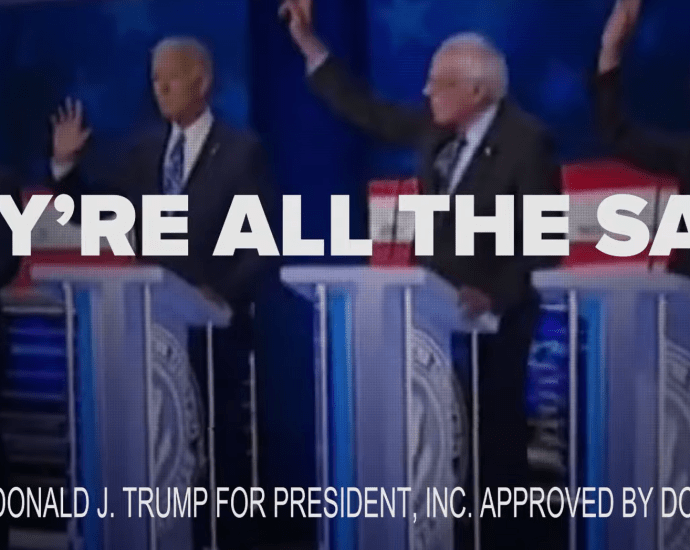 """Trump Campaign States Democrats are """"putting illegal immigrants before hardworking Americans,"""" In An Ad Airing During Debate"""