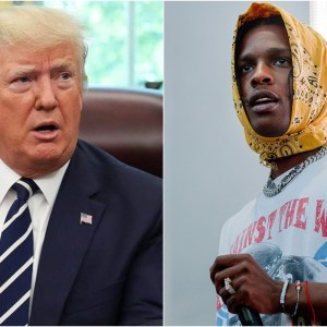 President Trump Tweets 'very disappointed' In Swedish PM For Not Freeing Rapper A$AP Rocky