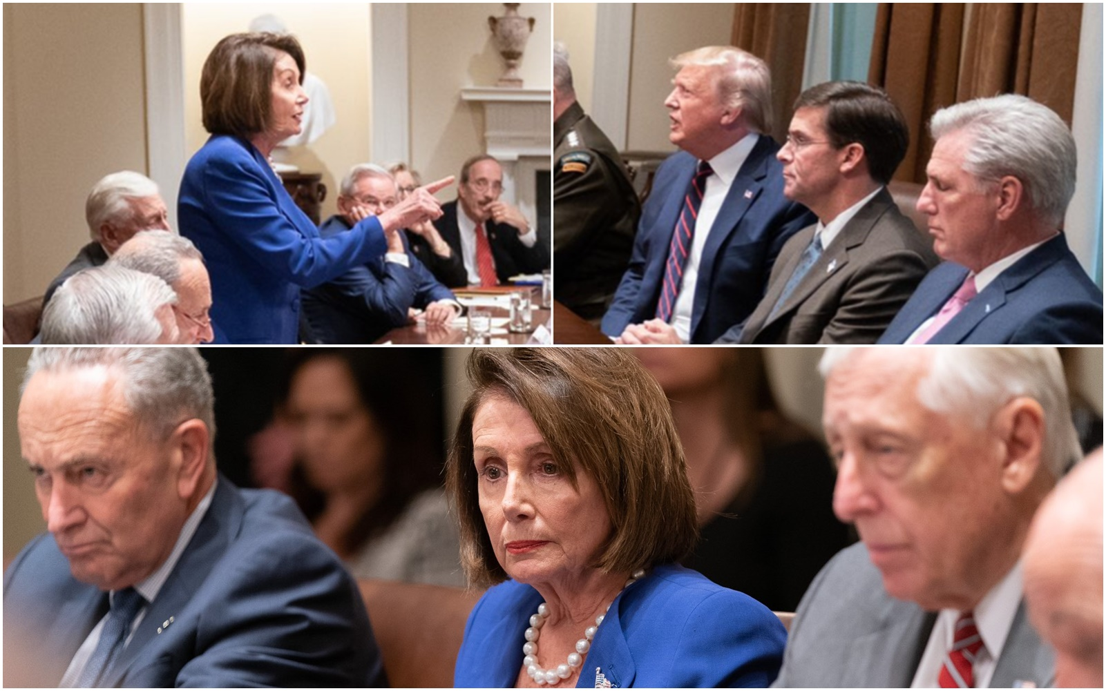 Pelosi Accuses Trump of a Meltdown, Trump Accuses Pelosi of a Meltdown. And Now, Let The Trolling Begin