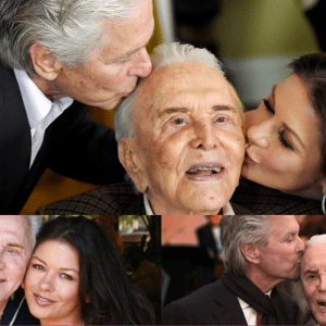 Kirk Douglas turns 103! Catherine Zeta Jones shares sweet picture with father-n-law sitting on her lap
