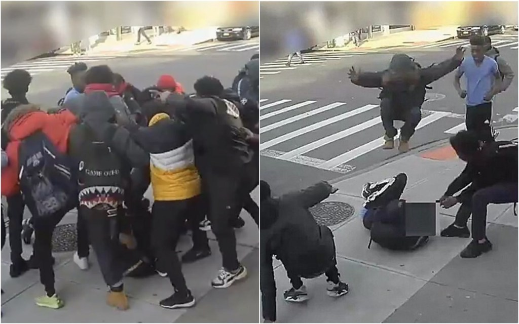 Horrific New York City Mugging Caught On Video