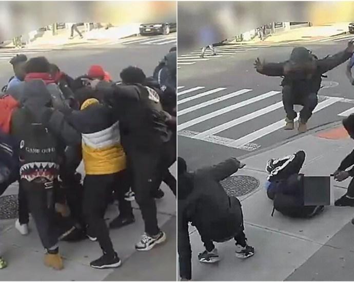 Horrific New York City Mugging Caught On Video