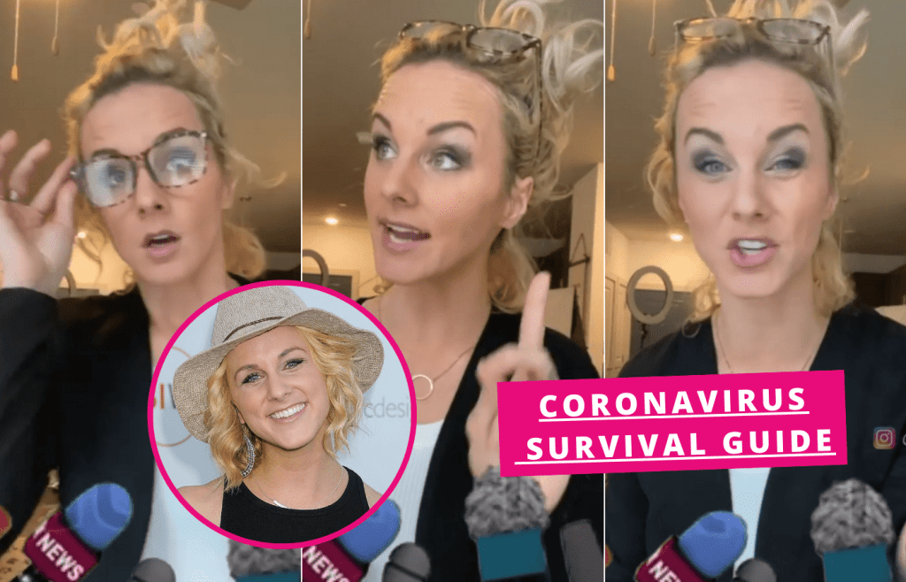 Watch: Hilarious spoof press conference: Woman mocks the contradictory information surrounding COVID-19
