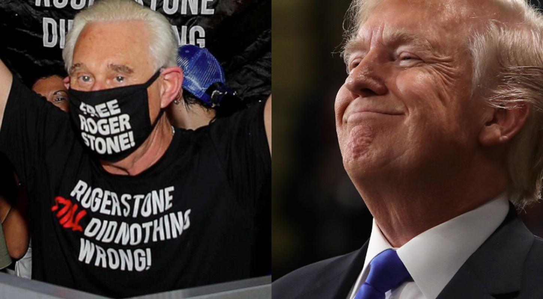 President Trump commutes Roger Stone's prison sentence