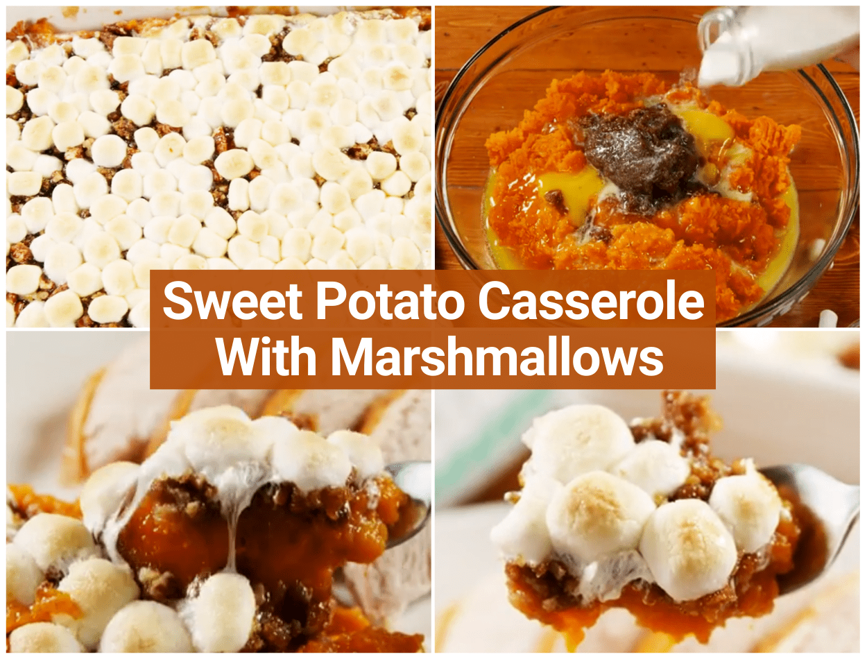 Tips for Sweet Potato Casserole With Marshmallows