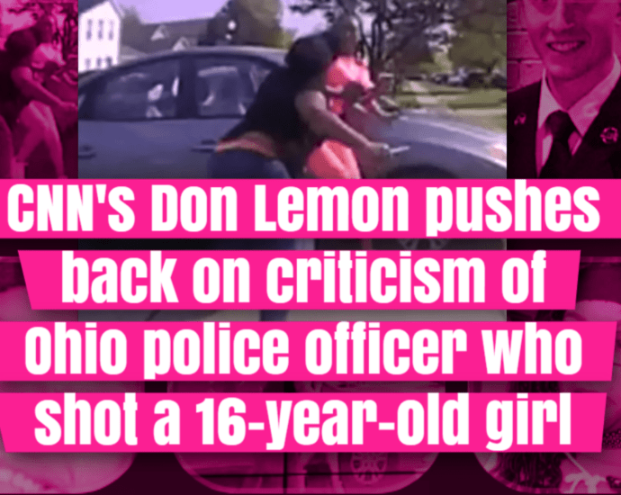Police shoot black girl that is trying to attack another girl with a knife