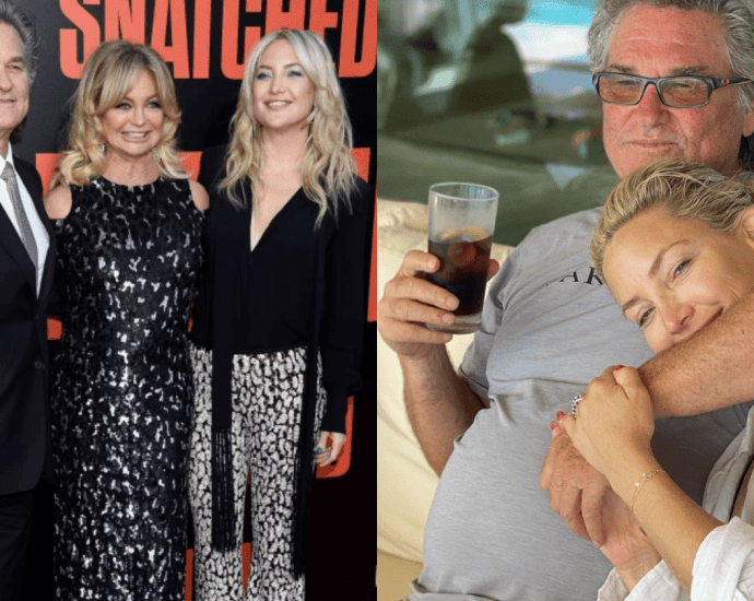 Kate Hudson Pays Tribute To Stepdad 'Kurt Russell' on Father's Day