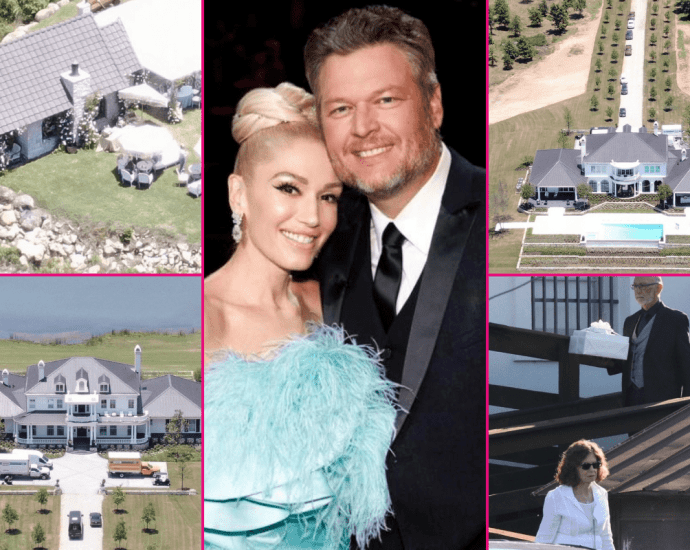 Blake Shelton and Gwen Stefani Officially Married! They Tied The Knot Over The July 4th Weekend in Oklahoma
