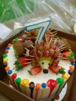 Hedgehog 7 cake