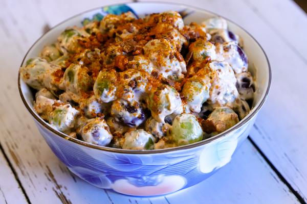 Butterfinger Grape Salad