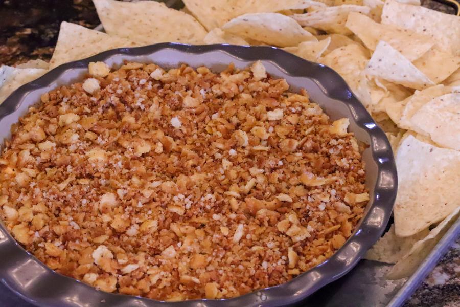 Cheesy Bacon Jalapeno Popper Dip 4
