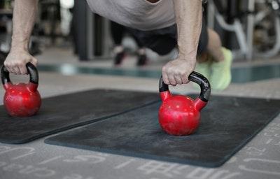 krachttraining - aankomen in spiermassa