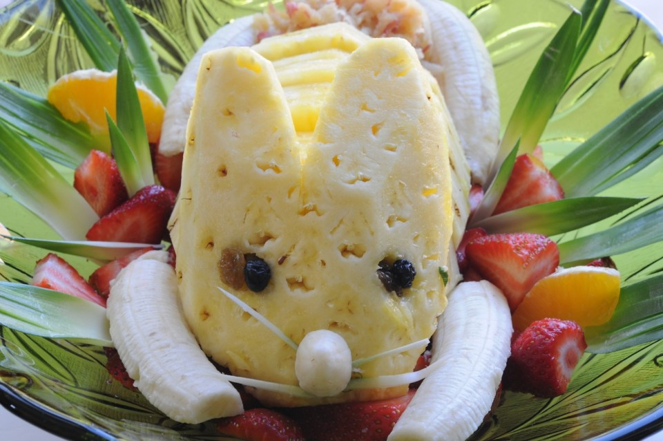 Easter Rabbit Salad