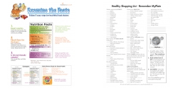 Nutrition Facts Label Color Handout