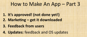 How to Make an App Part 3