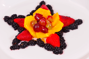 Make a Fruit Star