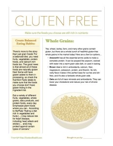 Gluten Free Nutrient Rich
