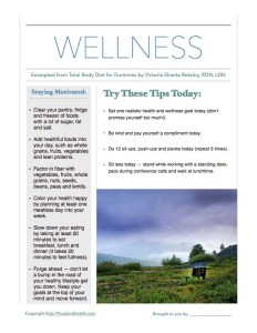 12 Tips Wellness