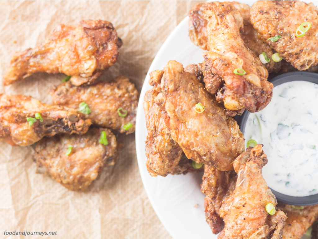 Five-Spice Baked Chicken Wings|foodandjourneys.net
