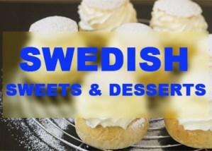 Swedish Sweets & Desserts