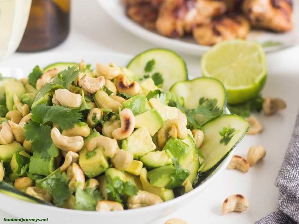 Green Summer Salad|foodandjourneys.net