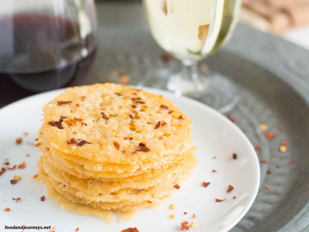 Parmesan & Chili Crisps|foodandjourneys.net